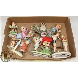 FLAT OF MOSTLY CHILD FIGURES