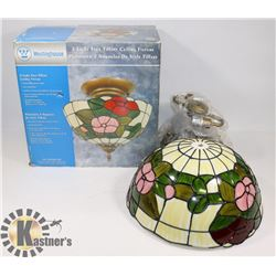 WESTINGHOUSE TIFFANY CEILING FIXTURE