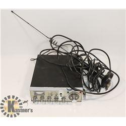 COBRA 29 CB RADIO W/ ANTENNA  NO MIC OR POWER CORD