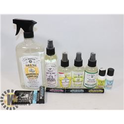 LARGE BAG WATKINS SOAPS, BODY OILS AND MORE