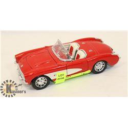 1/24 SCALE 1957 CORVETTE DIECAST CAR