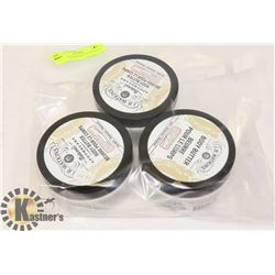 BAG OF 3 WATKINS BODY BUTTERS HONEY AND COCONUT