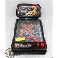 TRANSFORMERS ELECTRONIC MINI PINBALL GAME
