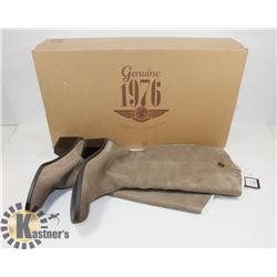 NEW GENUINE 1976 GENUINE LEATHER BOOTS SZ 7.5