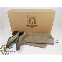 NEW GENUINE 1976 GENUINE LEATHER BOOTS SZ 8