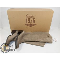 NEW GENUINE 1976 GENUINE LEATHER BOOTS SZ 9.5