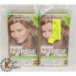 LOT OF 2 GARNIER NUTRISSE 71 DARK ASH BLONDE
