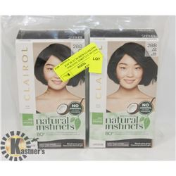 BAG OF 3 CLAIROL NATURAL INSTINCTS #2BB BLUE BLACK