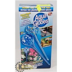 2 PACK OF NEW AQUA GLOBES