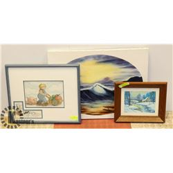 BUNDLE OF 3 PIECES OF ORIGINAL ART