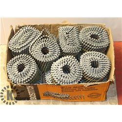 """BOX WITH 3-1/4""""X.120-15 DEGREE THICK COAT FENCE"""