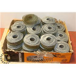 """BOX & 9 ROLLS OF 2""""X.120-15 DEGREE THICKCOAT FENCE"""