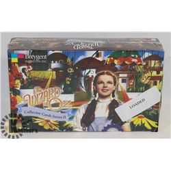 SEALED CASE OF WIZARD OF OX COLLECTOR CARDS