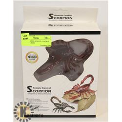 NEW INFRARED REMOTE CONTROL SCORPION (RED)
