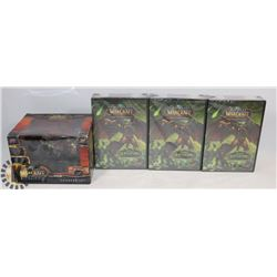 BUNDLE OF WORLD OF WARCRAFT CARD/ MINIATURES