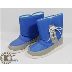 NEW FOOTLIGHTS BOYS BLUE/GREY SIZE 10 KIDS WINTER