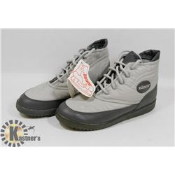 NEW DAOUST BOYS GREY/CHARCOAL SIZE 7 KIDS WINTER