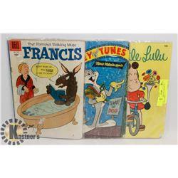 LOT OF 3 1950'S BUGS BUNNY 10 CENT COMICS