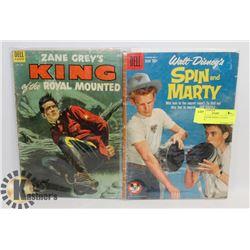 2-1950'S RCMP DISNEY 10 CENT COMICS