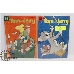 2 TOM AND JERRY 1950'S COLLECTIBLE COMIC