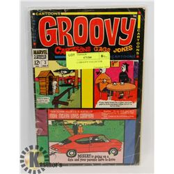 MARVEL GROOVY COLLECTOR COMIC