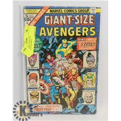 GIANT SIZED AVENGERS COLLECTOR COMICS