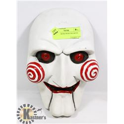 "JIGSAW'S MASK FROM THE MOVIE ""SAW"""