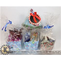 BOX OF GIFT BASKETS