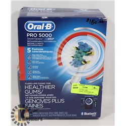 NEW ORAL-B PRO 5000 RECHARGEABLE TOOTHBRUSH