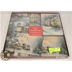 LARGE BOX OF HALLMARK HOLIDAY CARDS