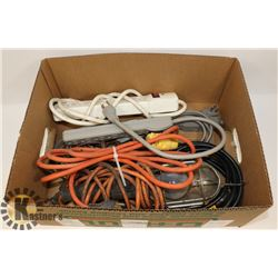 BOX WITH EXTENSION CORDS - OUTDOOR