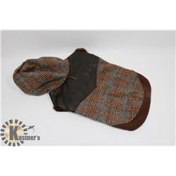 PUPPIA BROWN  DOG JACKET FOR SMALL BREEDS