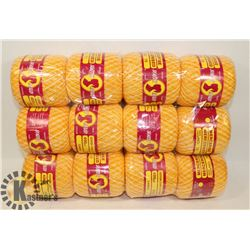 BUNDLE OF SOUTH MAID DOILY YARN