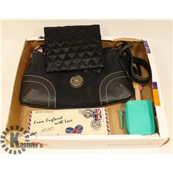 FLAT OF ASSORTED PURSE, WALLET AND ACCESSORIES