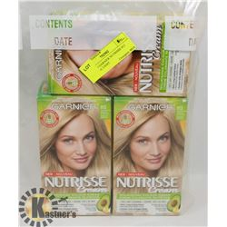LOT OF 3 GARNIER NUTRISSE 913 NATURAL LIGHT