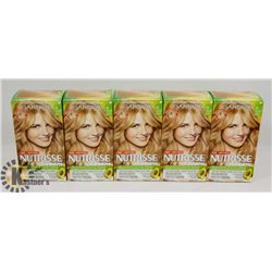 LOT OF 5 GARNIER NUTRISSE 83 MED GOLDEN BLONDE