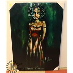 ANGELINA WRONA STRETCHED CANVAS ART