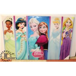 DISNEY PRINCESS CANVAS ART