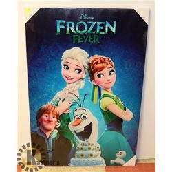DISNEY FROZEN CANVAS ART