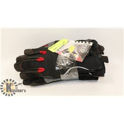 3 PAIRS OF GTP ANTI VIBRATION WORK GLOVES