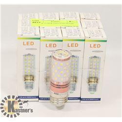 LOT OF 12 NEW LED LIGHT BULBS - 3000K
