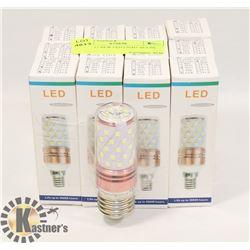 LOT OF 12 NEW LED LIGHT BULBS - 6000K