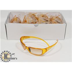BOX OF ORANGE DESIGNER SUNGLASSES
