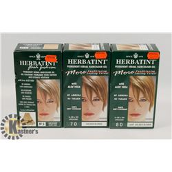 BAG OF ASST HERBATINT PERMANENT HERBAL HAIR COLOR