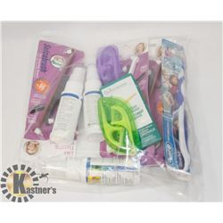 BAG OF ORAL HYGIENE PRODUCT