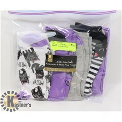 5PK LADIES CREW SOCKS