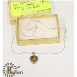MYSTIC HEART NECKLACE