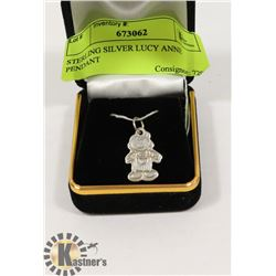 STERLING SILVER LUCY ANNE PENDANT
