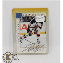 RANDY MCKAY NEW JERSEY DEVILS SIGNED CARD.