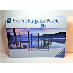 1)  FACTORY SEALED 1000 PCE PUZZLE OF